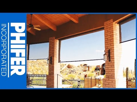 Phifer SunTex 80 & SunTex 90 Solar Screen Fabric & Product Overview