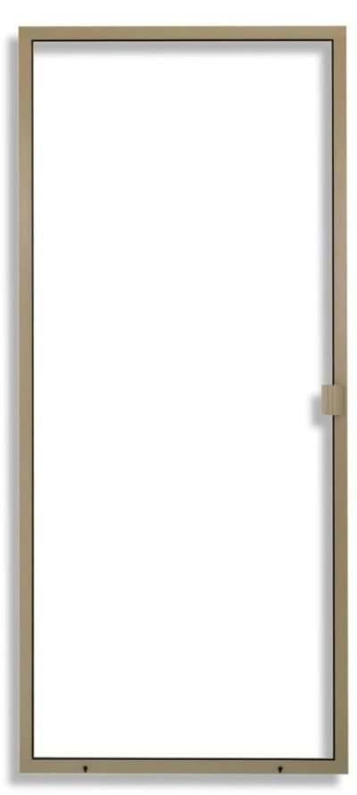 Heavy Duty Sliding Screen Door Adobe