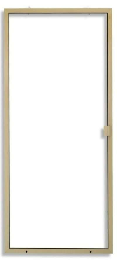 Heavy Duty Sliding Screen Door Tan Color