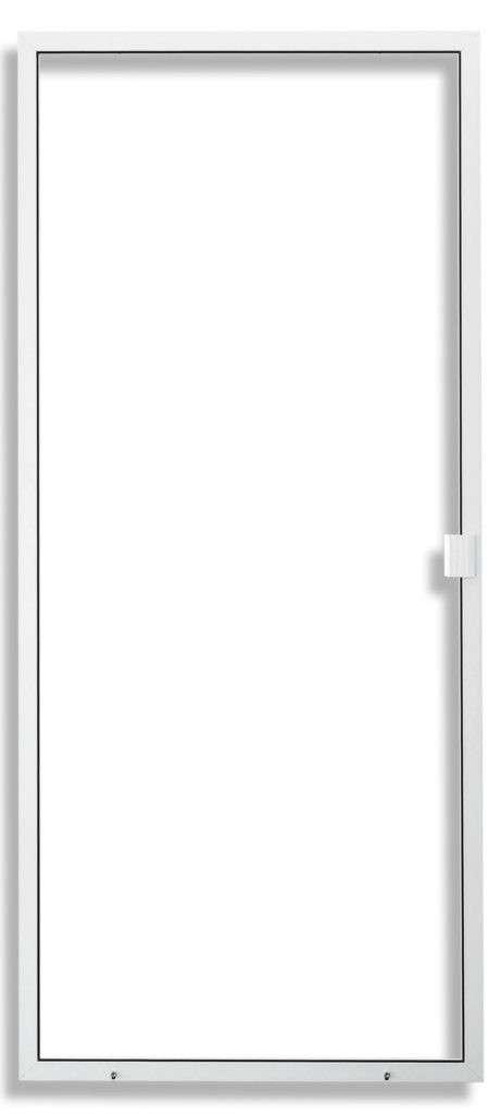 Ez Slide Heavy Duty Sliding Screen Door White Frame