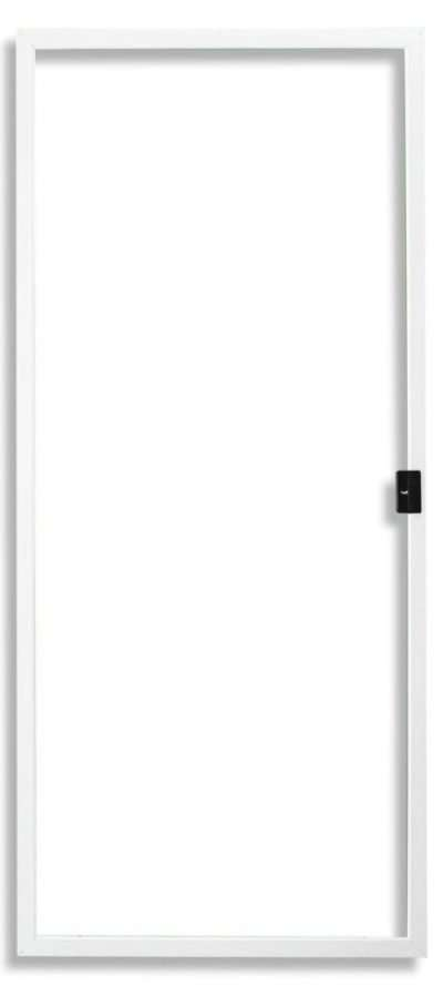 Economy Sliding Screen Door White