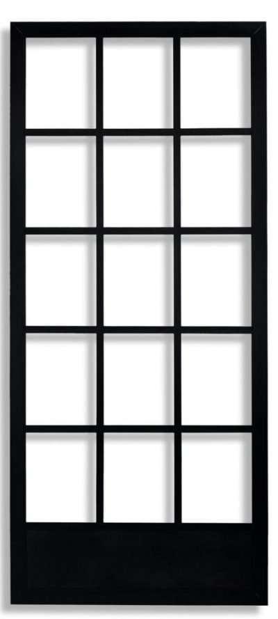 Black Cape Cod Swinging Screen Door by Active Window Products