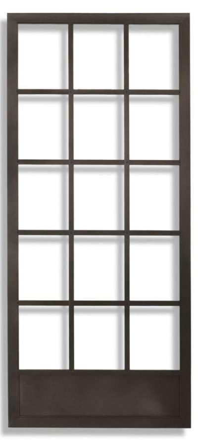 Bronze Cape Cod Swinging Screen Door Hinged by Active Window Products