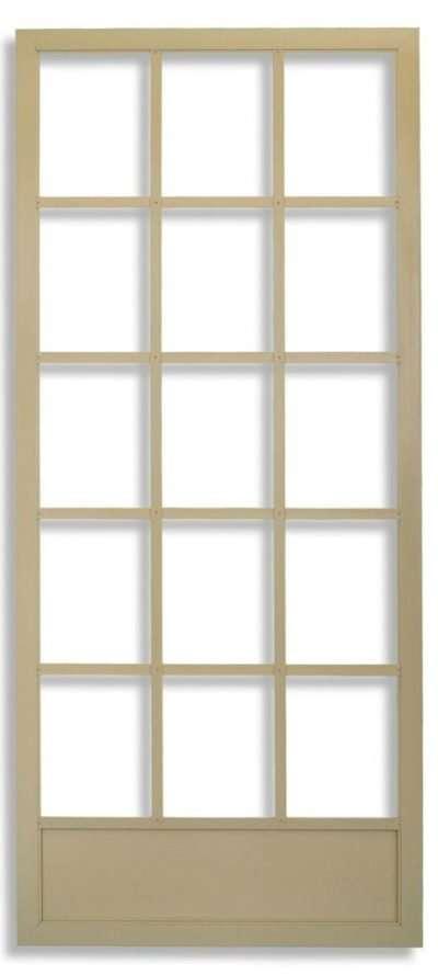 Tan Cape Cod Hinged Swinging Screen Door by Active Windows