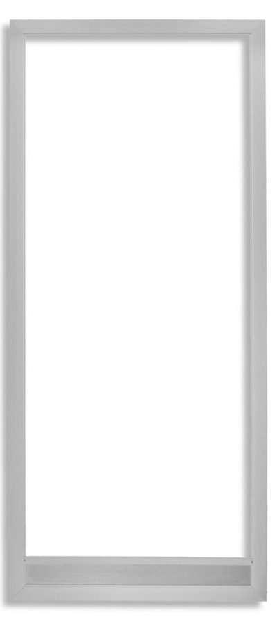 Vista Swinging Screen Door Clear Anodize