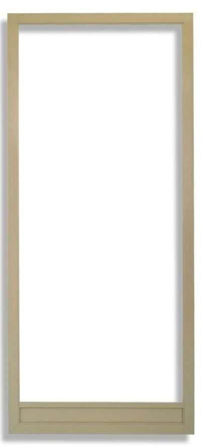 Vista Swinging Screen Door Tan