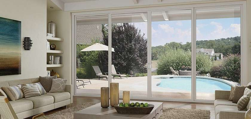 Type of Sliding Glass Door meeting in middle
