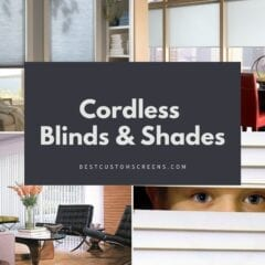 Cordless Window Blinds & Shades