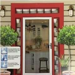 Tru-View Security Screen Door